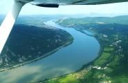 Sétarepülés a Dunakanyar felett
