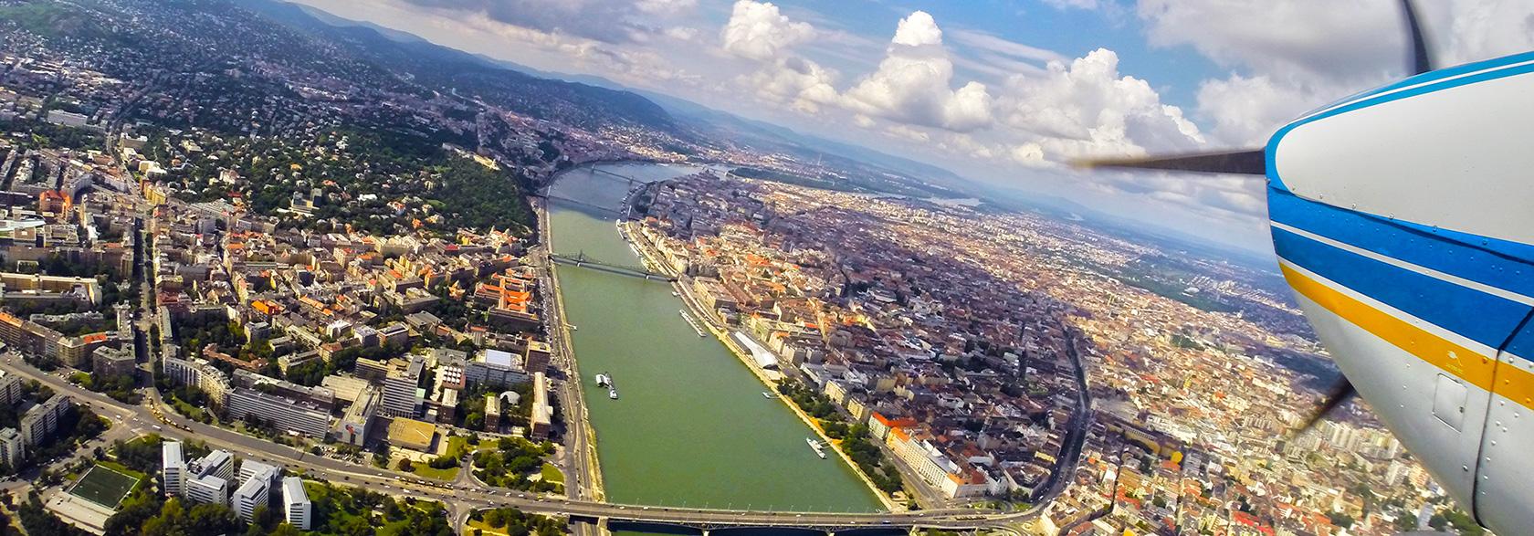 setarepules-budapest-felett
